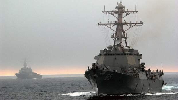 В Sohu рассказали о маневре ВМФ РФ, который обратил в бегство американские эсминцы