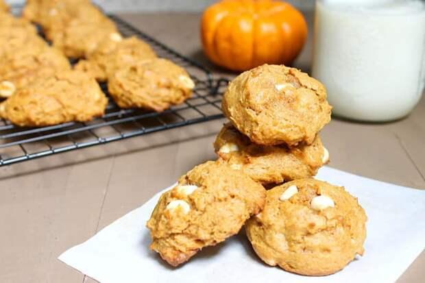 Тыквенное печенье: здоровое питание для взрослых и детишек