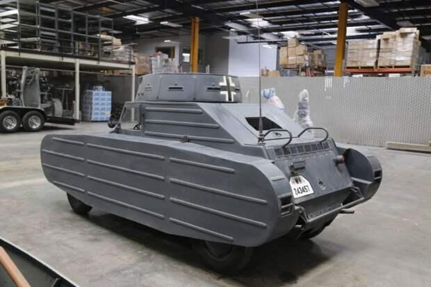 Фальшивый танк времен Второй мировой по цене легковушки volkswagen, военная техника, найдено на ebay, танк
