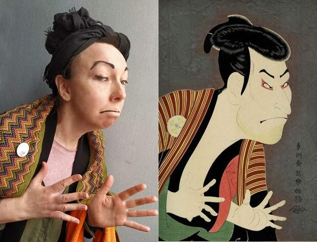 ИЗОизоляция: пародии на шедевры мировой живописи (ФОТО)