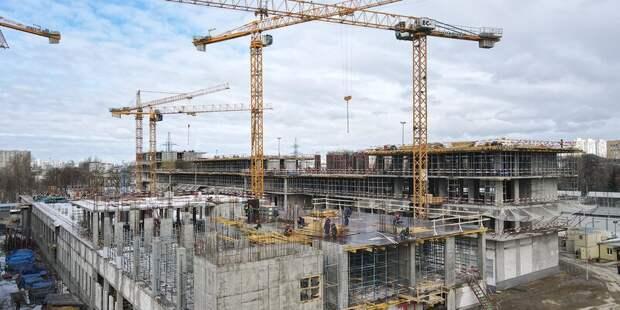 Сергей Собянин: Строительство новой инфекционной больницы закончат в 2023 году