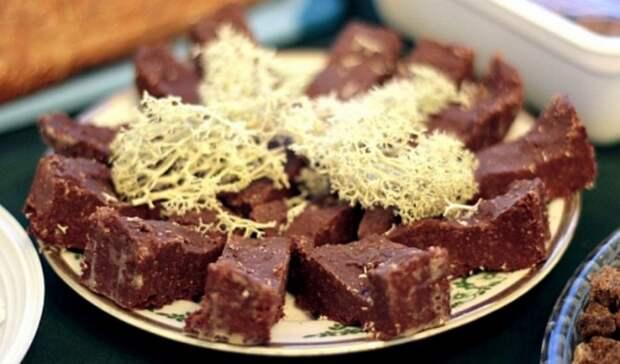 Сухарики из мха, конфеты из ягеля