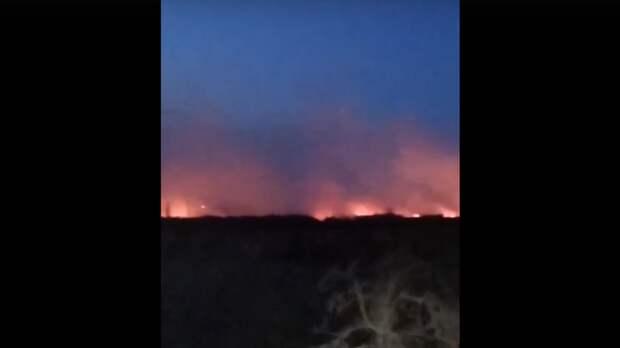Адское пламя! Артемовские луга около Нижнего Новгорода полыхают второй день