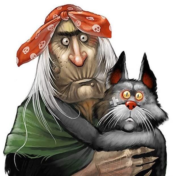 В избушке Бабы-Яги: Ловля мышей - это искусство!