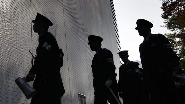 Сотрудники правоохранительных органов Японии - РИА Новости, 1920, 11.05.2021