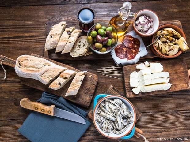 Готовим итальянский хлеб с маслинами