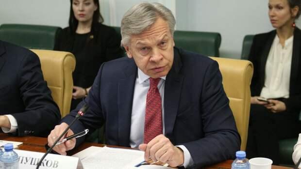 Пушков заявил о зависимости Украины от внешних покровителей