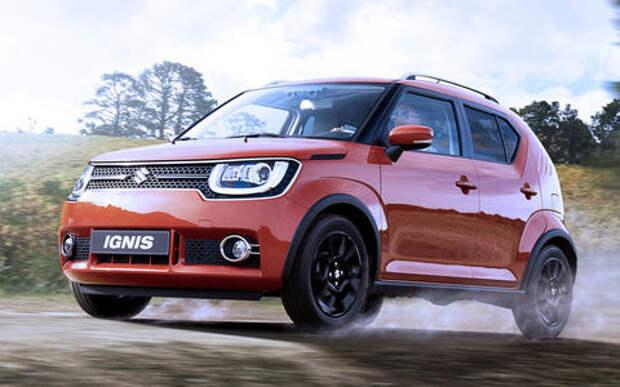 Больше лайков — больше кроссоверов: судьбу Suzuki Ignis решают в соцсетях
