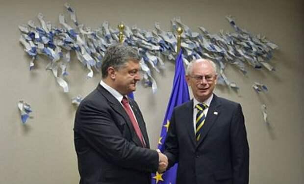 Ввод войск РФ в Украину требует адекватного ответа ЕС - Порошенко