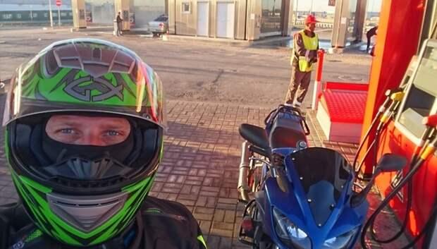 Украденный мотоцикл Yamaha нашли в Подольске