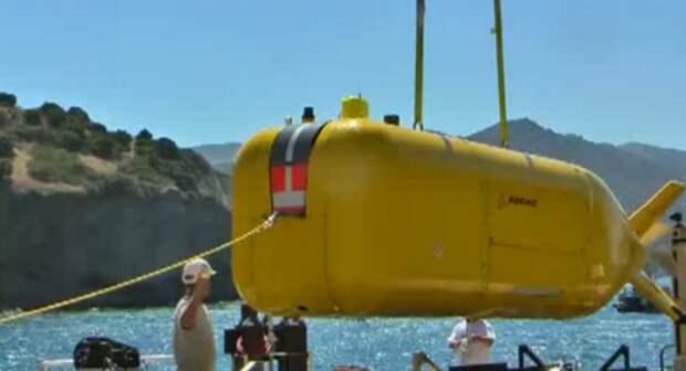 Беспилотная подводная лодка от компании Boeing.