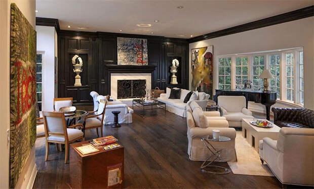 В гостях у Риз Уизерспун: экскурсия по особняку в английском стиле за 16 миллионов долларов