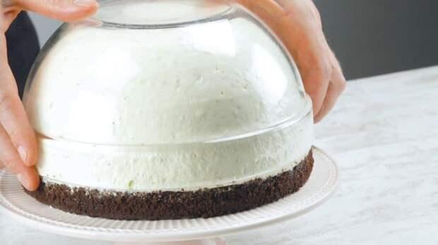 Фруктовый торт Клубника со сливками