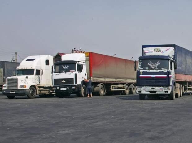 Плата за проезд тяжелых грузовиков будет увеличена