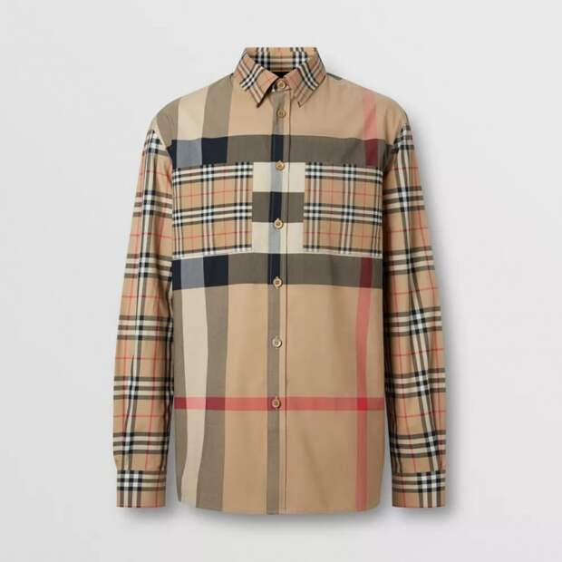 мужские рубашки  Burberry