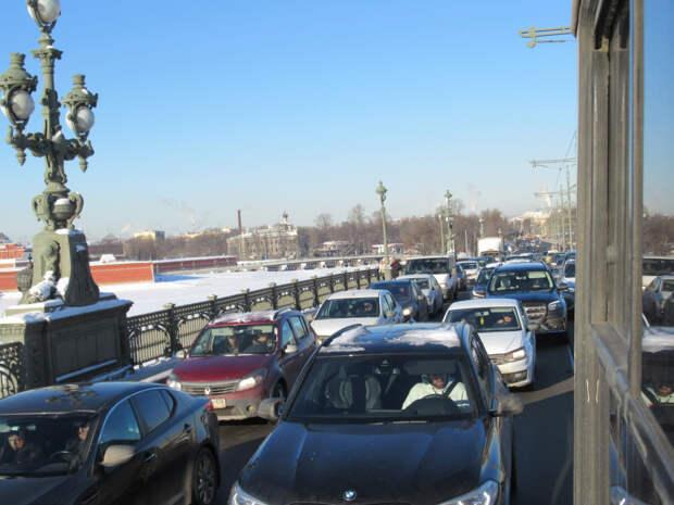 Морозы в Санкт-Петербурге