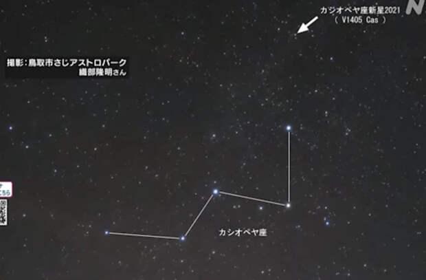 Загадочная звезда за два месяца стала ярче в 50 раз