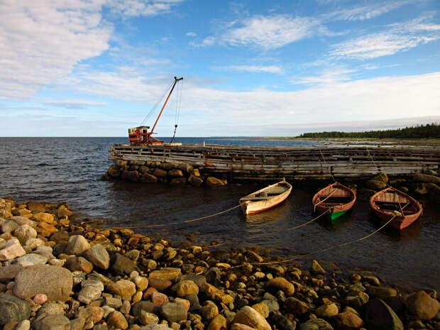 Лодки-карбасы драгировщиков со всем необходимым.
