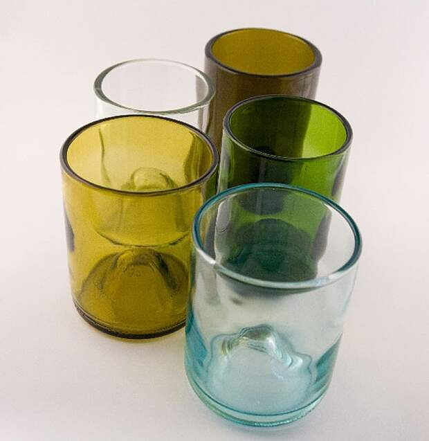 WineBottle14 22 способа превратить пустую бутылку в практичное произведение искусства