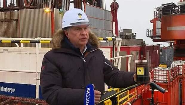 """""""Роснефть"""" открыла крупнейшее месторождение нефти в Арктике"""