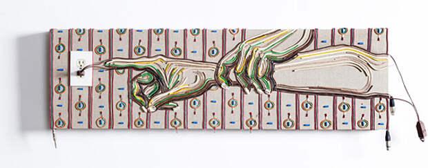 Кабельные картины Федерико Урибе