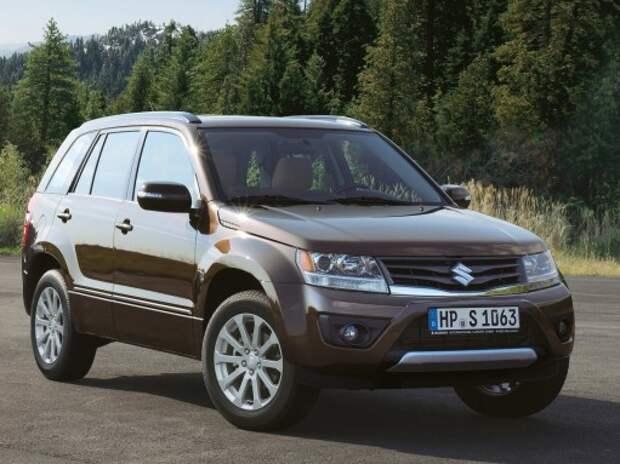 Suzuki отказывается от вседорожника Grand Vitara