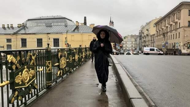 Жителей Петербурга ожидают дожди в середине недели