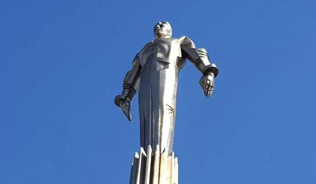Памятник Юрию Гагарину в Москве приведут в порядок