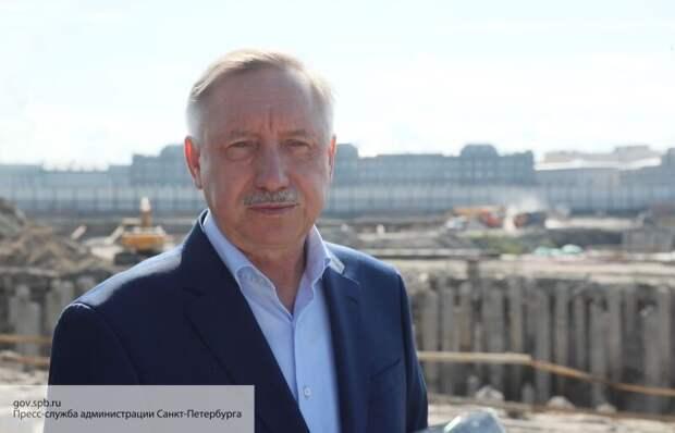 Беглов назвал проекты, которые выведут Петербург в «премьер-лигу мировых мегаполисов»