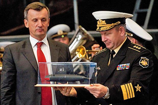 Третью подлодку проекта «Варшавянка» спустили на воду в Петербурге