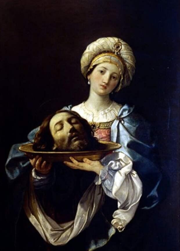 Гвидо Рени. Саломея с головой Иоанна Крестителя
