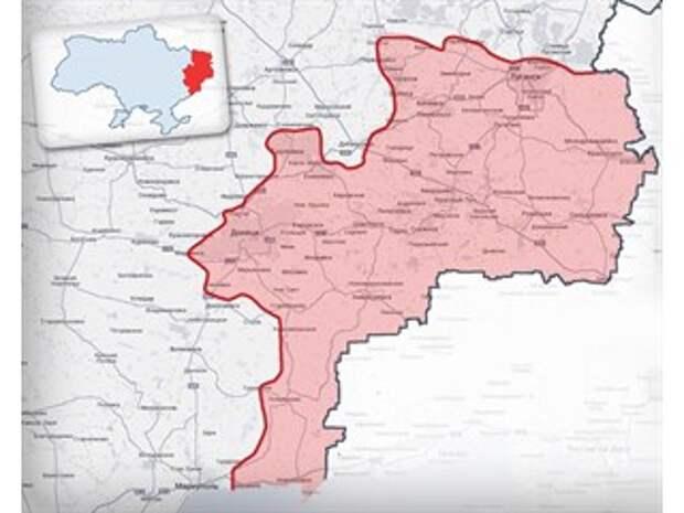Красная линия по Украине