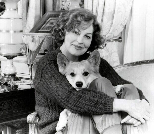 фото Авы Гарднер с любимой собакой