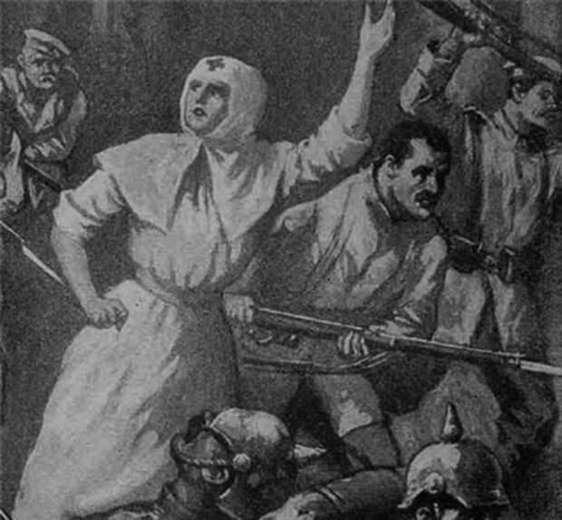 Русские женщины - герои Первой мировой войны