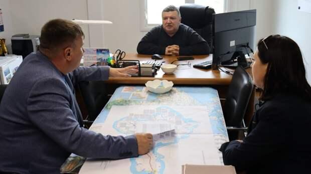Михаил Слободяник провел рабочую встречу с руководителем участка АО «ВАД»