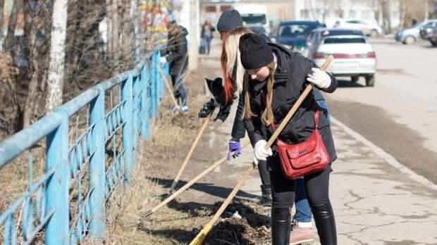 Жители Йошкар-Олы помогли коммунальщикам в подготовке города к 9 Мая