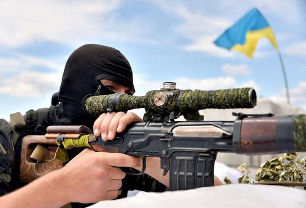 На Донбассе ликвидирован снайпер из «Айдара» (ФОТО)