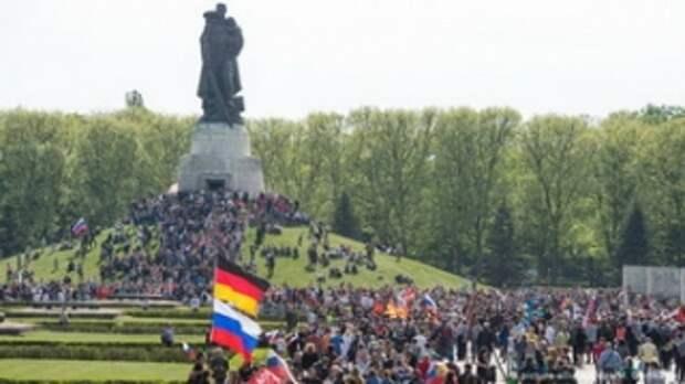 9 мая 2020 года, Берлин, Трептов-парк