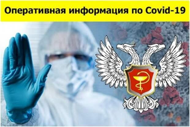 Свежая сводка по COVID-19 в ДНР: выявлен 141 новый случай заболевания