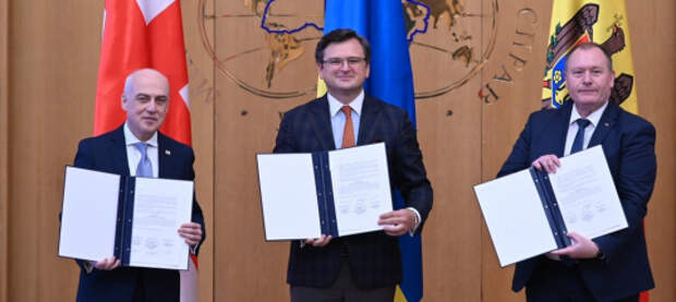 В ЕС одобрили создание из Украины, Грузии и Молдовы «Ассоциированного трио»