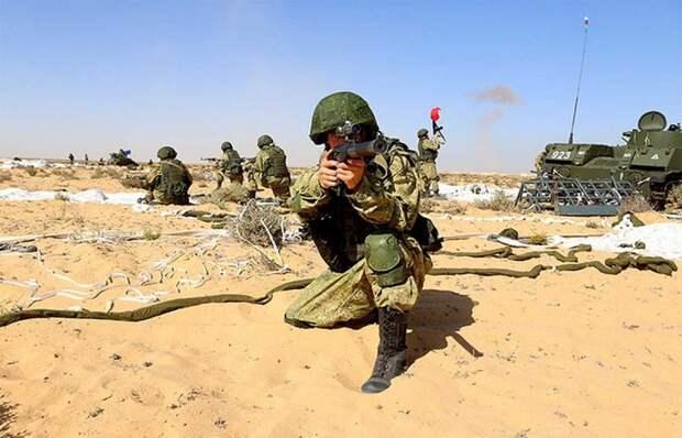 «Стрела Дружбы»: в Египте начались первые российско-египетские военные учения