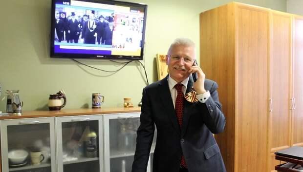 Депутат Мособлдумы Максимович отправил видеопоздравления ветеранам ВОВ
