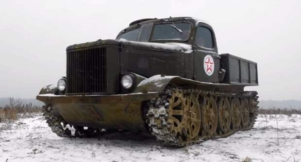 Транспортер АТ-Л. Военная техника СССР