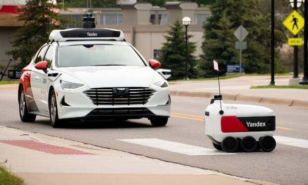 Первое беспилотное такси в России