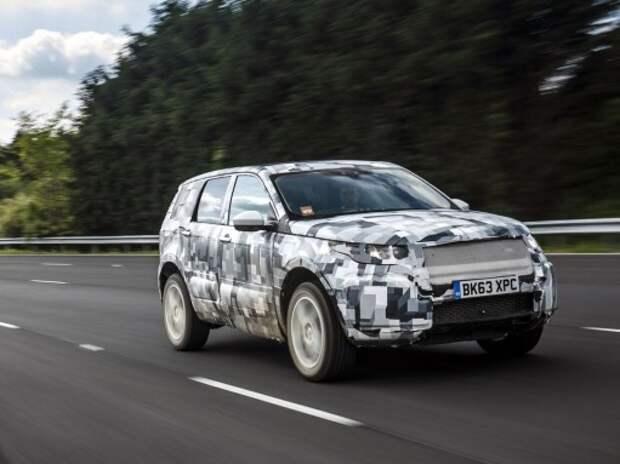 В Land Rover показали, на что способен сменщик Freelander