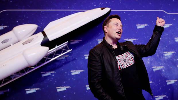 Маск оценил сроки беспилотного полета на Марс