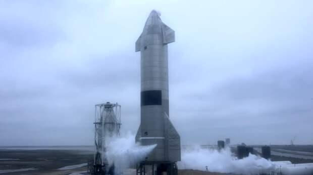 В Сети появились кадры первого успешного приземления прототипа корабля Starship