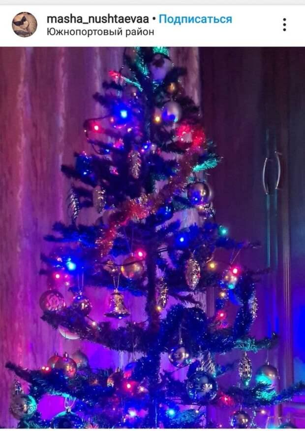 Фото дня: новогоднее настроение в Южнопортовом