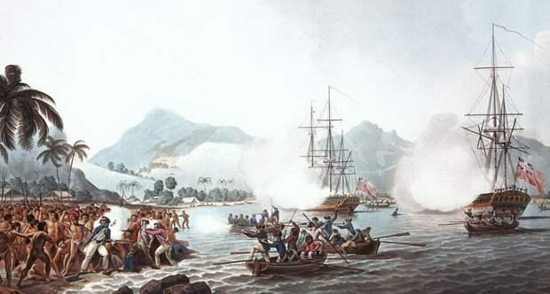 Английские корабли