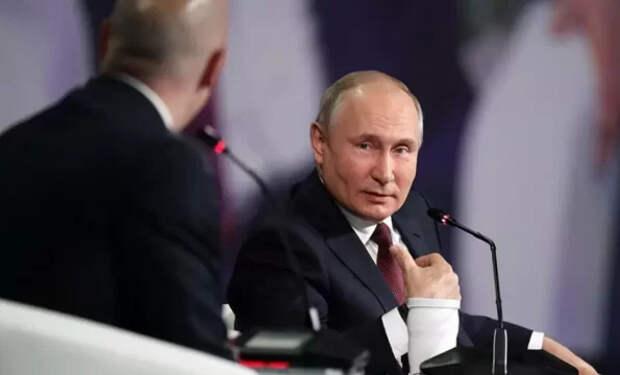 «Путин, который не лебезит»: как на острые вопросы иносми отвечал Путин на форуме в Петербурге